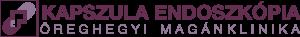Kapszula endoszkópia - tükrözés fájdalom nélkül