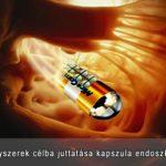 gyógyszer szállítása kapszulával